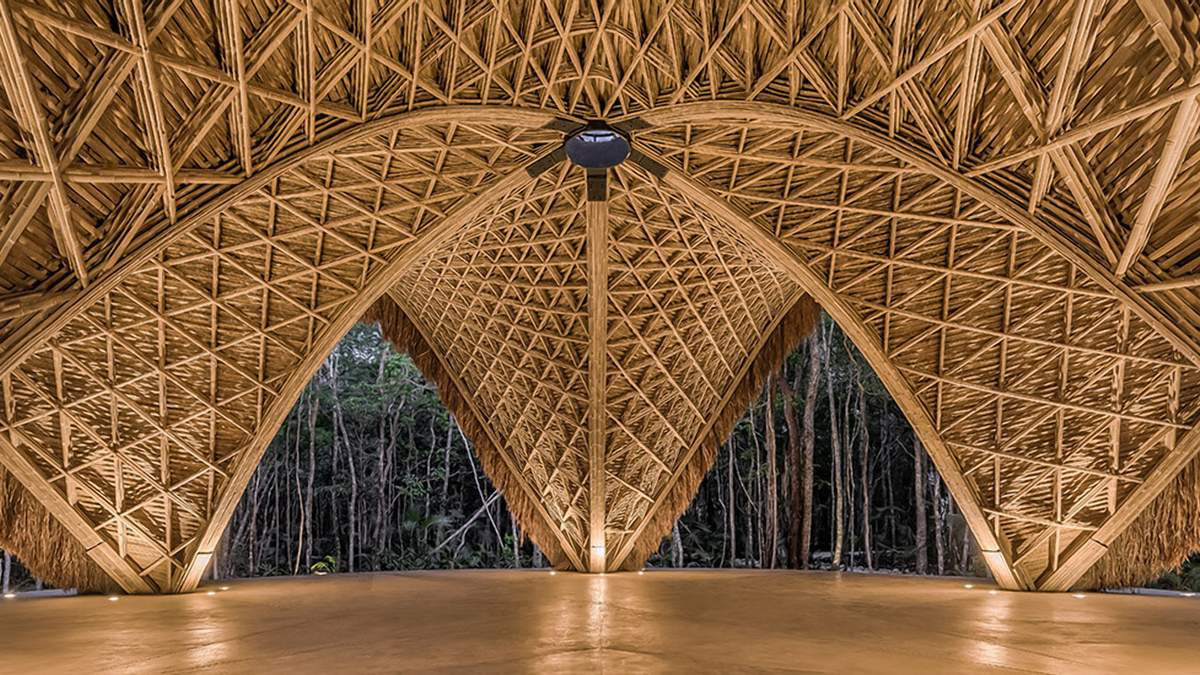Унікальний матеріал: найкрасивіші  у світі споруди із бамбука - Дизайн 24