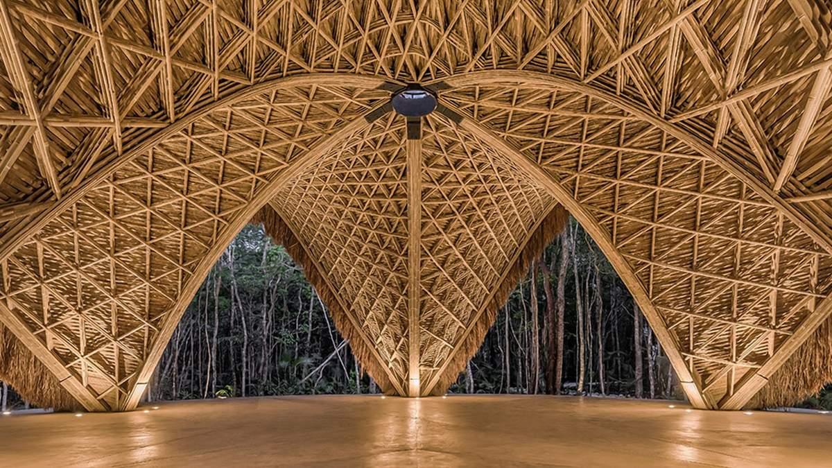 Уникальный материал: самые красивые сооружения из бамбука в мире - Дизайн 24
