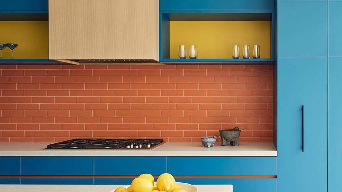 Яскраві кольори  та цікаві рішення: неповторні ідеї для вашої кухні - Дизайн 24