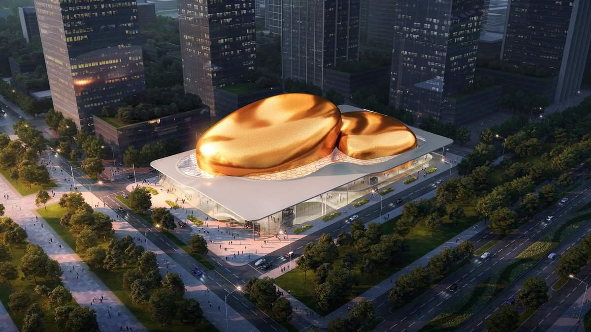 Справжня магія: у Китаї створять центр мистецтв, який дивує розмахом - Дизайн 24