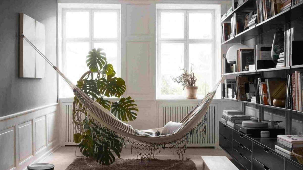 Максимальний релакс: чому в квартирі варто повісити гамак - 14 октября 2021 - Дизайн 24