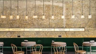 Станція Хлібний: фото стильного інтер'єру нового кафе в Києві