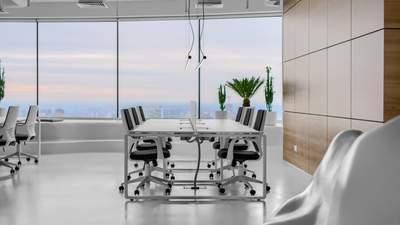 Панорамні вікна, футуристичність, smart-рішення: IT-офіс в найвищій будівлі України