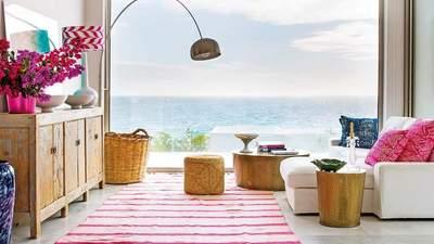 З виглядом на море: яскравий дизайн океанського будинку