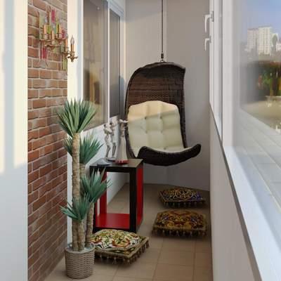 Отдых с комфортом: 5 идей для обустройства застекленного балкона