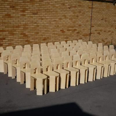 60 стільців за 3 дні: шалений експеримент від британського дизайнера – фото, відео