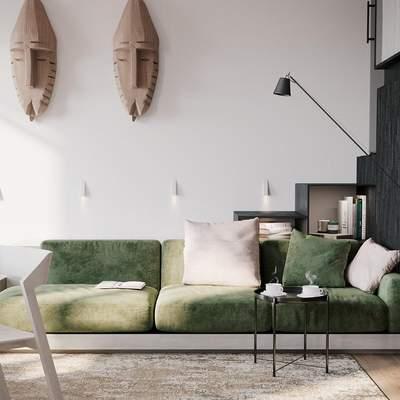 Як правильно облаштувати маленьку вітальню: поради дизайнера