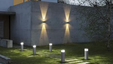 Вуличні світильники: типи ламп та способи установки