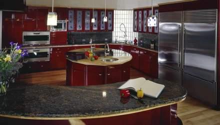 Дизайн кухни в красном цвете: какие особенности и как не прогадать с оттенком – фото