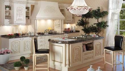 Кухня в итальянском стиле: особенности, мебель и освещение – фото