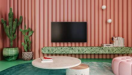 Суцільний зефір – проєкт вишуканої дизайнерської квартири у США: фото