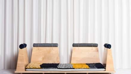 Багатофункціональні меблі: у США створили диван, який перетворюється на татамі – фото