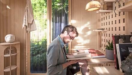 Кокон для работы дома во время пандемии: как выглядит крошечный офис, нужный каждому – фото
