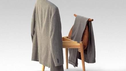 Вы точно его купите: дизайнеры создали стул, на который можно вешать одежду