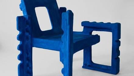 Экостулья из пенопласта: греческий дизайнер сделал причудливую мебель – фото