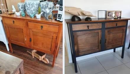 7 реальных примеров, как люди изменили свою старую мебель до неузнаваемости: фото до и после