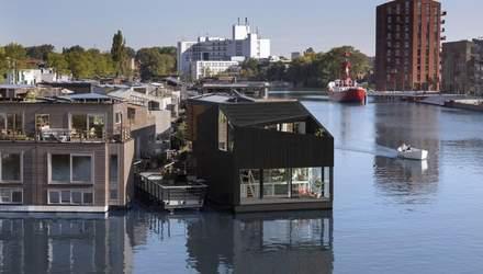 В Нидерландах построили уникальное плавучее сообщество Schoonschip: исключительные фото