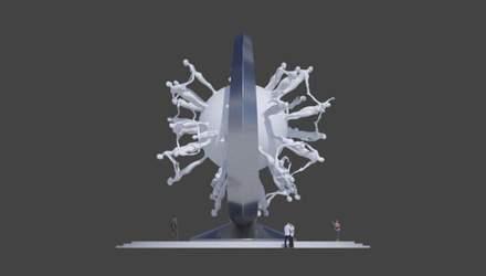 Пам'ятник коронавірусу: Дубай замовив монумент у всесвітньо відомого українського скульптора