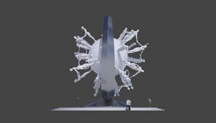 Памятник коронавирусу: Дубай заказал монумент у всемирно известного украинского скульптора