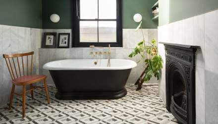 Как в кино: 5 невероятных ванных комнат с отдельно стоящими ванными