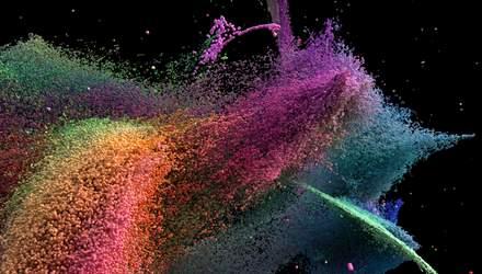 Чарівна стіна: відомий художник зробив цифровий витвір мистецтва – приголомшливе відео