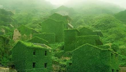 Поглотила природа: как выглядит заброшенная рыбацкая деревня в Китае – фото