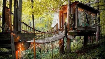 Мечта детей и взрослых: 3 потрясающих дома на дереве – фото, видео