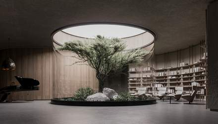 План Б: українські архітектори створили проєкт інноваційного будинку на глибині 15 метрів – фото