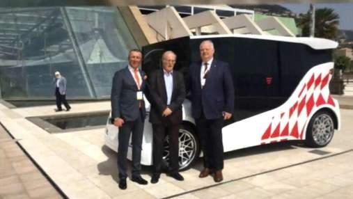 Инновационное украинское авто презентовали в Монако