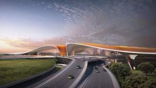 Самый больший в мире аэропорт построят в Китае: появились фото