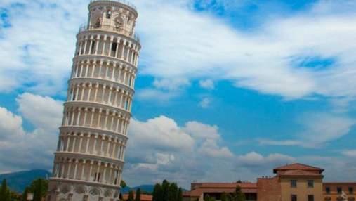 Знаменитая Пизанская башня начала выравниваться