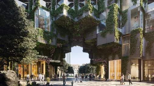 """Квартал в Торонто превратится в """"гору"""" из стеклянного кирпича: фантастический проект"""