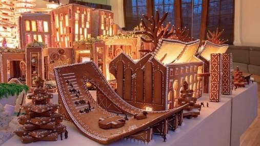 С пряников, желейок и карамели: известные архитекторы построили съедобный город будущего