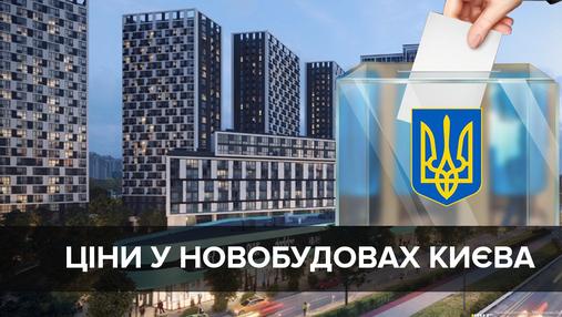 Ціни на квартири у новобудовах Києва у березні: чого чекати після виборів