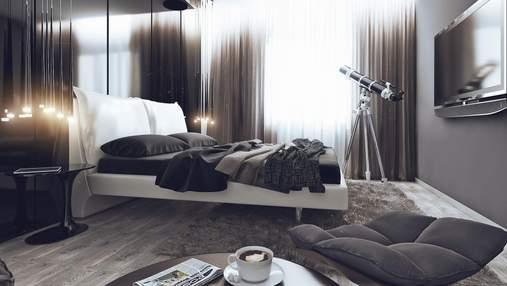 Спальня в стиле хай-тек: критерии и особенности дизайна