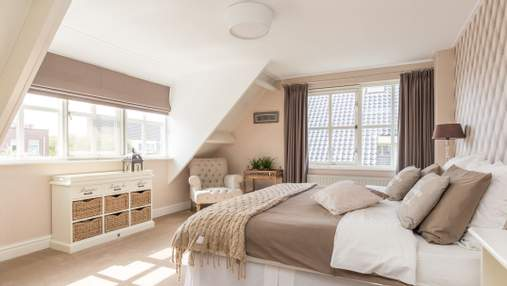 Інтер'єр спальні під дахом: плюси, мінуси та варіанти оформлення