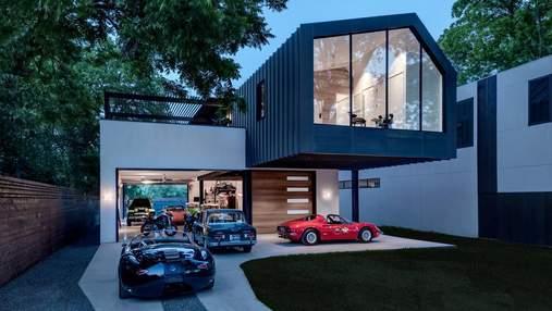 Дизайн экстерьера гаража: какие есть варианты облицовки