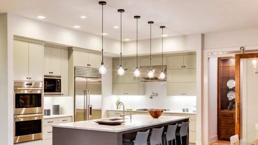 Зонування простору світлом – як правильно поділити спальню, кухню та вітальню