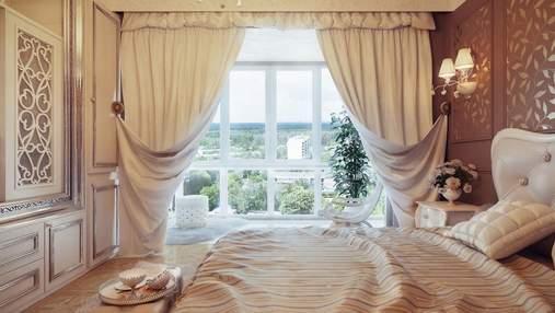 Як правильно вибрати штори для спальні: види, колір та цілі