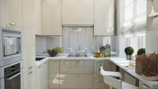 Дизайн маленькой кухни: особенности и варианты планировки помещения – фото