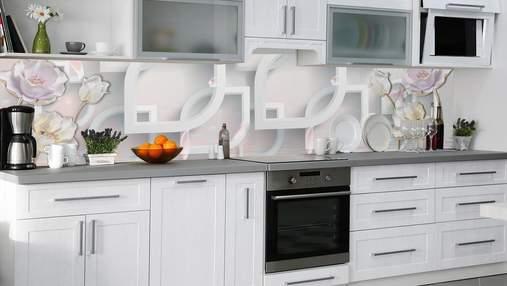 Кухонный фартук – виды материалов и особенности вариантов