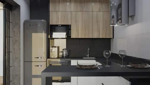 Кухня в сірих тонах: відтінки, переваги та недоліки такого вибору