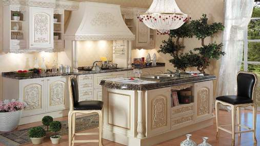Кухня в італійському стилі: особливості, меблі та освітлення – фото