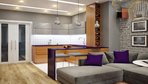 Дизайн кухні-студії: переваги, недоліки та нюанси облаштування