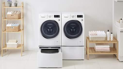 Окрім кухні та ванної: де варто встановити пральну машину вдома