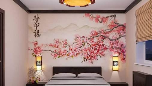 Спальня в японському стилі: матеріали, кольори та поради щодо оформлення – фото