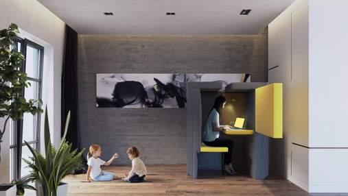 Диван, який перетворюється в офіс: креативна розробка з Лондона – фото