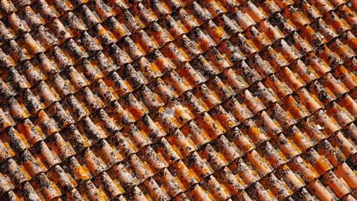 Куди подіти стару черепицю: 5 способів використання дахового покриття в інтер'єрі – фото