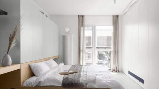Как сделать маленькую квартиру светлой и уютной – пример киевского проекта: фото