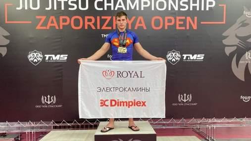 Електрокаміни й спорт: представник електрокамінів TM Dimplex і TM Royal розвиває спорт в Україні